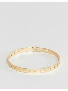 ASOS Adjustable Metal Belt Bracelet - Gold