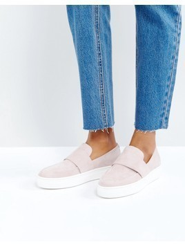 Vagabond Camille Blush Slip On Trainers - Pink