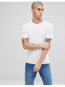 Only&Sons T-Shirt With Cool Slogan - White
