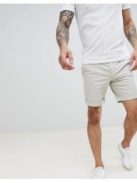 Selected Homme Chino Short - Stone