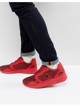 Le Coq Sportif Interstellar Jacquard Trainers - Red