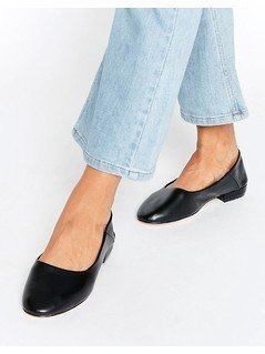 ASOS LEGENDS Ballet Flats - Black