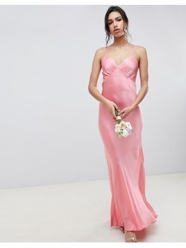 Ghost maxi cami dress - Pink