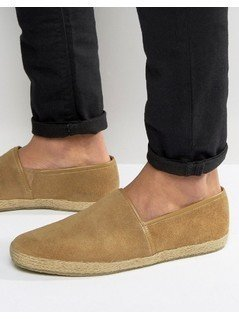 KG By Kurt Geiger Loafers In Tan Suede - Tan