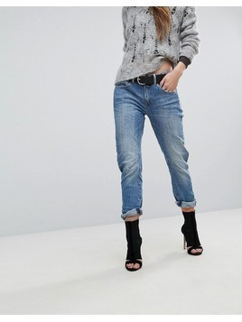 G-Star Arc 3D Kate Low Rise Boyfriend Jean - Blue