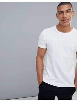 Dissident Taped Gym T-Shirt - White