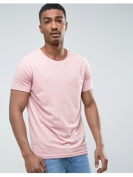 Weekday Alex T-shirt - Pink
