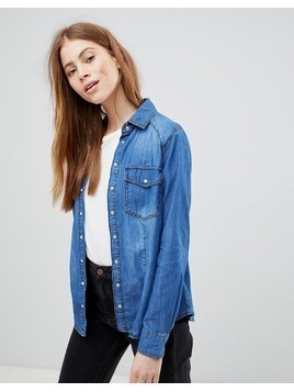 Pimkie Denim Shirt - Blue