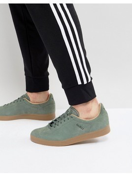 adidas Originals Gazelle Decon Trainers In Green CG3705 - Green
