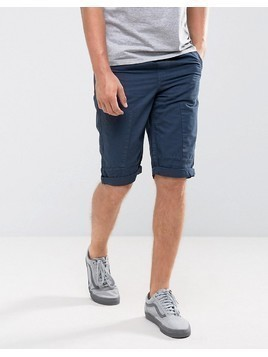 Loyalty and Faith Drawstring Shorts - Navy