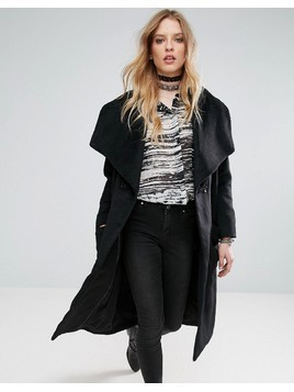 Religion Craft Coat - Black