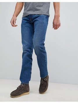 Levi's 502 Tapered Jeans Mid City - Blue