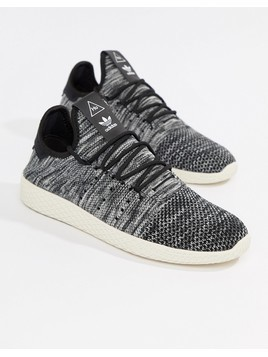 adidas Originals Pharrell Williams Tennis HU Trainers In Grey CQ2630 - White