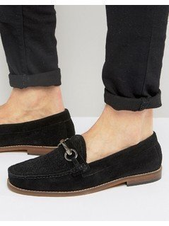 KG By Kurt Geiger Woven Loafers - Black