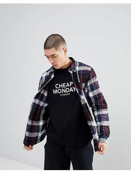 Cheap Monday Checked Shirt - Blue