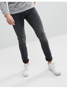 Weekday Form Trotter Black Cut Super Skinny Jeans - Black