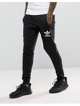 adidas Originals 3 Stripe Jogger In Black BS4629 - Black