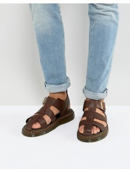 Dr Martens Galia Carpathian Sandals In Tan - Tan