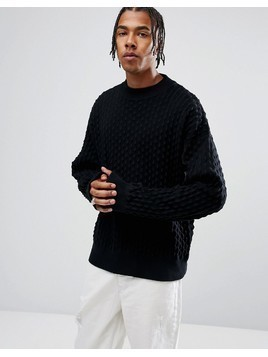 Weekday Mono Sweater - Black