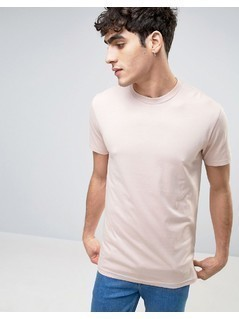 Weekday Alan T-Shirt - Pink