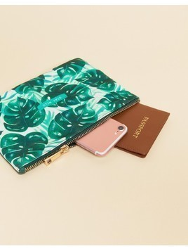 Sass&Belle Botanical Jungle Pouch - Multi