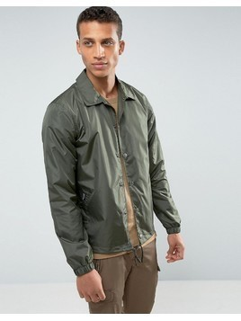 Loyalty and Faith Coach Jacket - Green