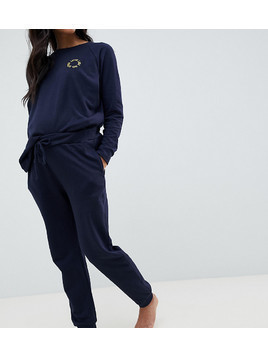 ASOS DESIGN Maternity Jogger - Navy