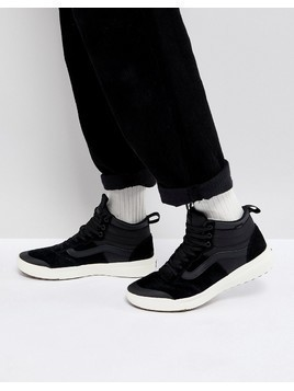 Vans Mn Ultra Range Hi Trainers In Black VA3JESDW5 - Black