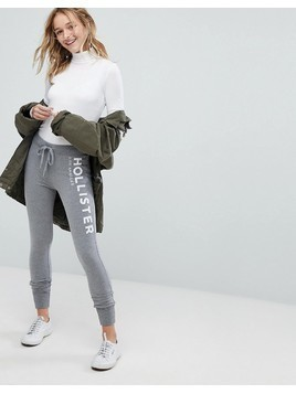 Hollister Cozy Skinny Trackpant - Grey