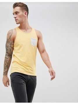 Produkt Contrast Pocket Vest - Yellow