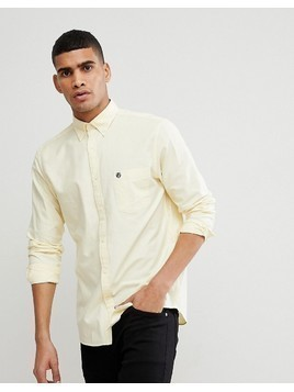 Selected Homme Regular Button Down Oxford Shirt - Yellow