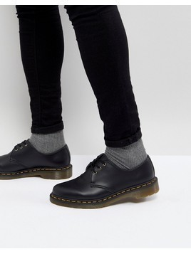Dr Martens 1461 Vegan 3-Eye Shoes - Black