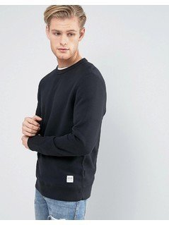 Converse Essentials Luxe Sweat in Black 10000654-A01 - Black