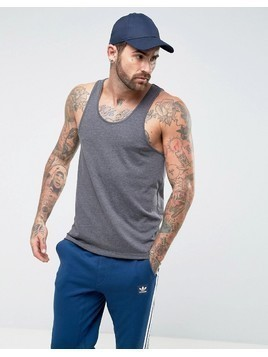 ASOS Vest In Standard Fit In Grey - Grey
