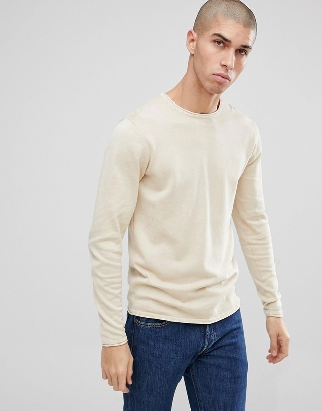 Only&Sons Knitted Jumper - Beige