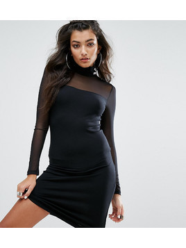 Puma Exclusive To ASOS Bodycon Mesh Dress - Black