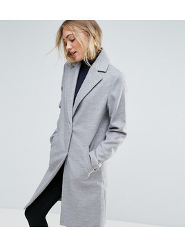 New Look Tall Formal Tailored Coat - Grey