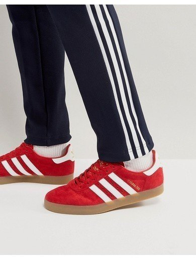 adidas Originals 350 Trainers In Scarlet - Red