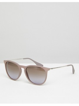 Ray-Ban 0RB4171 Round Sunglasses In Pink 68mm - Pink