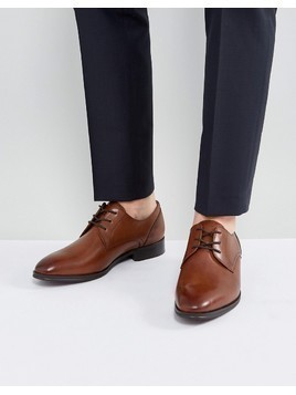 ALDO Lauriano Derby Leather Shoes In Tan - Tan