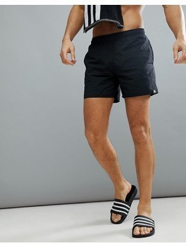 adidas Swim Shorts In Black CV7111 - Black