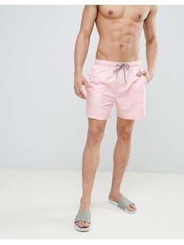 New Look Swim Shorts In Pink - Pink