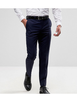 Burton Menswear Slim Suit Trousers - Navy