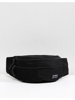 Pull&Bear Bum Bag In Black - Black