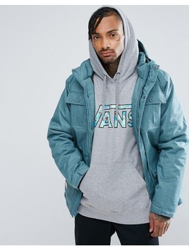 Vans 4 Pocket Hooded Parka V00QLWKDU - Blue