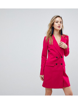 ASOS TALL Tailored Sexy Longline Blazer - Pink