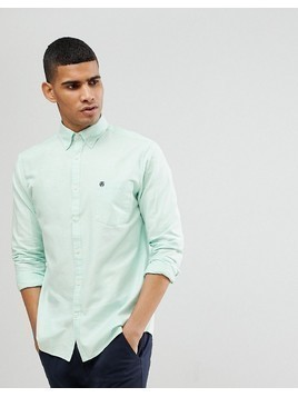 Selected Homme Regular Button Down Oxford Shirt - Blue