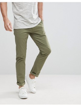 Selected Homme Regular Fit Chinos - Green