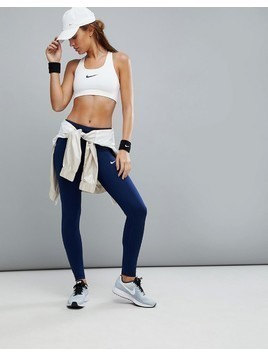 Nike Running Dri-Fit Essential Legging In Blue - Blue