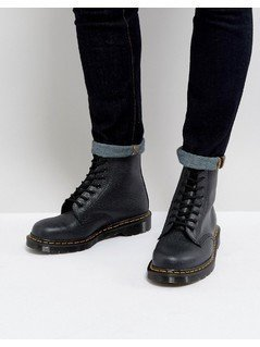Dr Martens Made In England 1460 Pebble Boots - Black